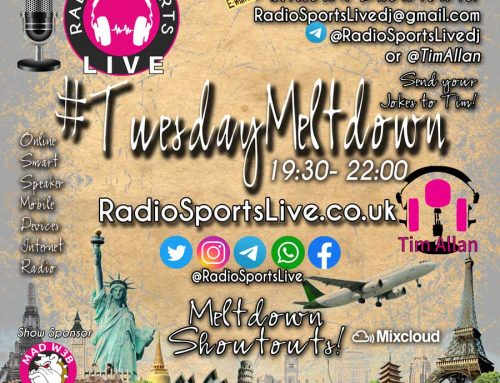The Tuesday Meltdown with Tim Allan