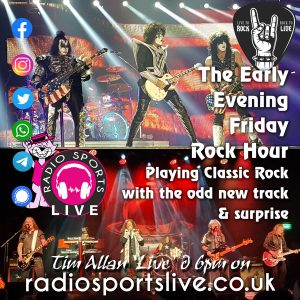 Friday Evening Rock – Tim Allan
