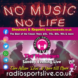 The Meltdown Sunday Live – Tim Allan